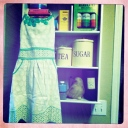 Polka Dotted Apron from Anthropologie