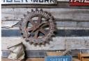 Vintage Cog Carnival Wheel 3-P4
