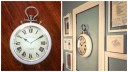 Homes Goods Time Piece $49.99, with Assorted Frames from TJ Maxx $7 to $19