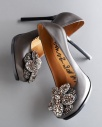 Lanvin Crystal-Flower Pump $1688, Neiman Marcus