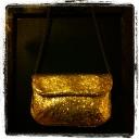 Glitter Purse $59.50, J.Crew