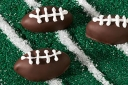 Oreo Football Cookie Balls via Kraft Recipes