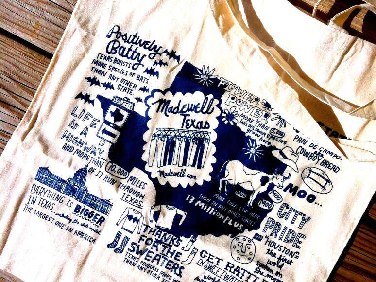 Madewell Fort Worth   Texas Tote